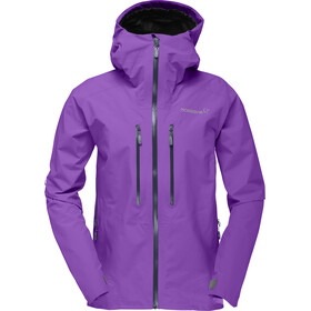 Norrøna Trollveggen Gore-Tex Light Pro Jacket Dam royal lush